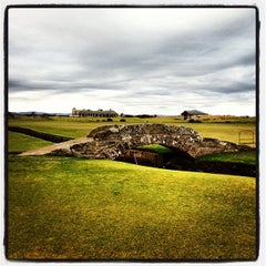 Photo taken at The Old Course St Andrews by Kevin D. on 11/30/2012
