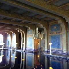 Photo taken at Hearst Castle Roman Pool by Daisuke S. on 1/20/2014