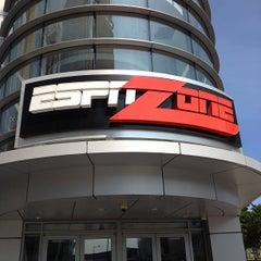 Photo taken at ESPN Zone by Arash M. on 7/19/2013