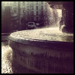 Photo taken at Place du Maréchal Lyautey by Wim B. on 12/31/2012