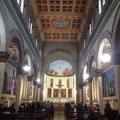 Photo taken at Iglesia Santa Eduvigis by Enrique C. on 8/23/2015