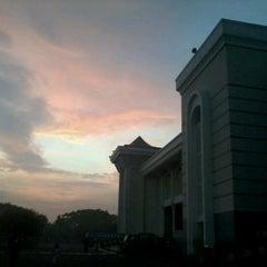 Photo taken at Masjid Nasional Al-Akbar by khoirotul a. on 12/28/2012