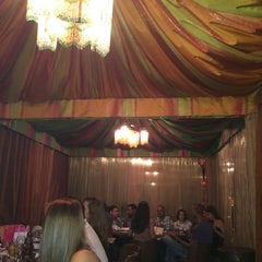 Photo taken at Sultan's Tent & Café Moroc by Nadia on 6/21/2014