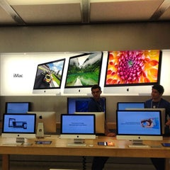 Photo taken at Apple Store, Carlsbad by Erin R. on 1/26/2013