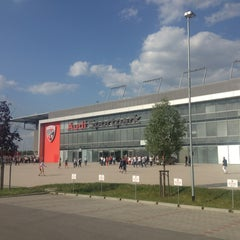 Photo taken at Audi Sportpark by ruhrpoet on 7/13/2013