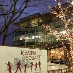 Photo taken at Kendall Square Community Ice Skating by Alex F. on 1/9/2013