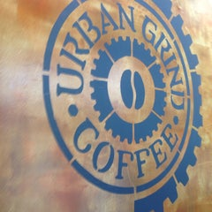 Photo taken at Urban Grind Coffeehouse by Sasa S. on 2/23/2014
