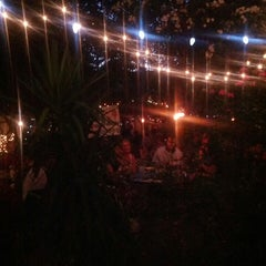 Photo taken at Bacchanal Wine by Christina X. on 6/4/2013