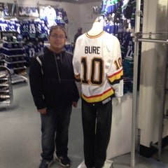 Photo taken at Canucks Team Store by Chris C. on 11/1/2013