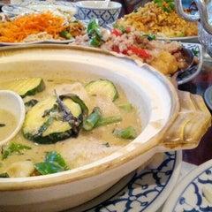 Photo taken at President Thai Restaurant by Julian K. on 9/17/2012