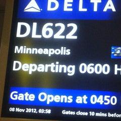 Photo taken at Gate D46 by TAN K. on 11/7/2012