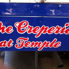 Photo taken at The Creperie At Temple by Charlotte J. on 10/24/2013