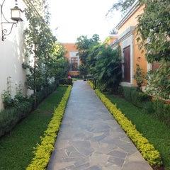 Photo taken at Hotel Los Abolengos by Alejandro S. on 2/1/2013
