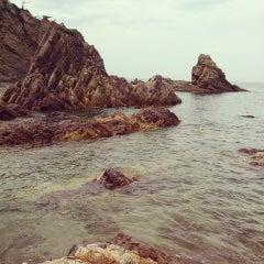 Photo taken at 城原海岸 by しまやん on 7/6/2013