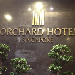 Photo taken at Orchard Hotel by Mammy D. on 4/12/2013