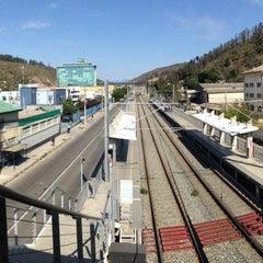 Photo taken at Metro Valparaiso - Estación El Salto by Sebastián D. on 2/8/2013