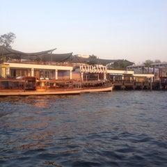 Photo taken at ท่าวัดมหาธาตุ (Wat Mahathat Pier) by Ous M. on 2/3/2015