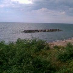 Photo taken at Lake Erie by Stas G. on 9/28/2011