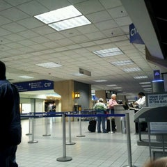 Photo taken at Gate C17 by Landa P. on 1/23/2012