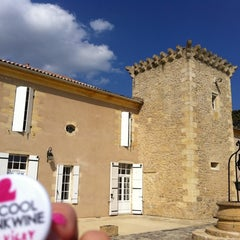 Photo taken at Chateau Coutet by Vicky W. on 4/2/2012