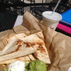 Photo taken at Qdoba Mexican Grill by Maddie H. on 5/14/2013