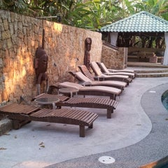 Photo taken at Moana Lodge by Alejandro Q. on 1/31/2013
