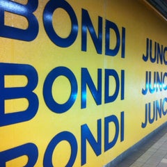 Photo taken at Bondi Junction Station by Pam S. on 12/13/2012