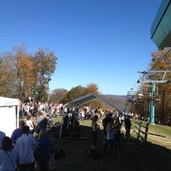 Photo taken at Mountain Warming Hut by Matt H. on 10/12/2013