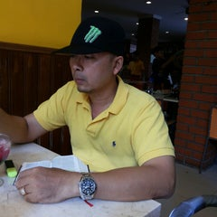 Photo taken at Bakmi Golek by Silvia H. on 8/7/2014