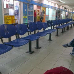 Photo taken at Sungai Nibong Express Bus Terminal by Adeeba O. on 1/17/2013