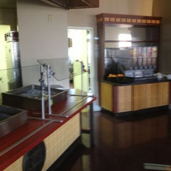 Photo taken at McEwen Dining Hall by Andrew B. on 1/5/2013