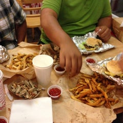 Photo taken at Five Guys by Rami K. on 5/25/2013