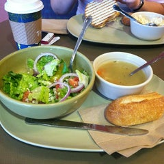 Photo taken at Panera Bread by Jessica J. on 1/1/2013