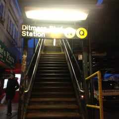 Photo taken at MTA Subway - Astoria/Ditmars Blvd (N/Q) by Andrew A. on 12/28/2012