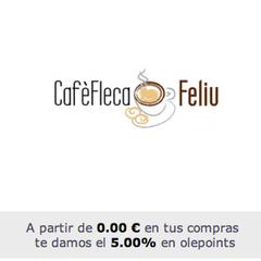 Photo taken at Cafe Fleca Feliu by olepoints on 2/4/2013