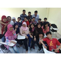 Photo taken at Institut Teknologi Indonesia (ITI) by Yogan Daru P. on 9/20/2014