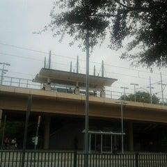 Photo taken at Forest Lane Station (DART Rail) by John U. on 9/14/2012
