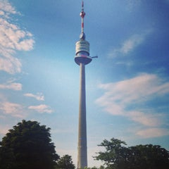 Photo taken at Donauturm by Marko Ž. on 7/24/2013