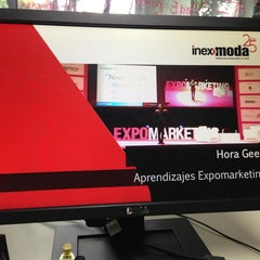 Photo taken at Inexmoda, Instituto para la Exportación y la Moda by Catalina R. on 5/17/2013