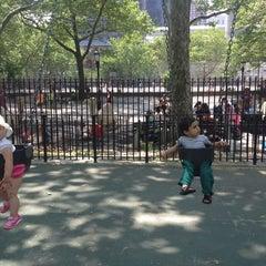 Photo taken at John Jay Playground by stephanie on 6/3/2014
