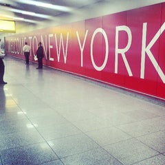 Photo taken at John F. Kennedy International Airport (JFK) by Rafa P. on 7/8/2013
