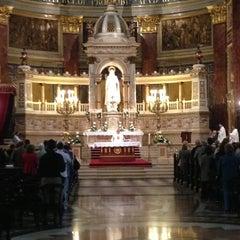 Photo taken at Szent István Bazilika by Ahmet A. on 5/31/2013