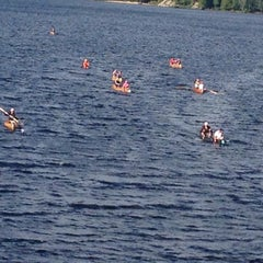 Photo taken at Long Lake by MaryEllen R. on 9/6/2014