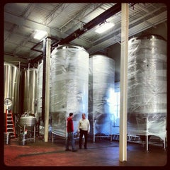 Photo taken at Starr Hill Brewery by Starr Hill B. on 1/23/2013