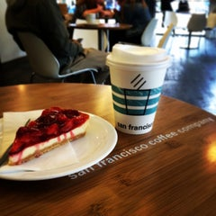 Photo taken at San Francisco Coffee Company by Angelika F. on 5/29/2014