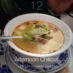 Photo taken at Lin Lin Chinesse Food by Miguel A. on 8/9/2013