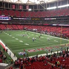Photo taken at Georgia Dome by Simit on 1/20/2013