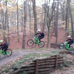 Photo taken at Downhill Berlin by Kathi on 11/10/2013