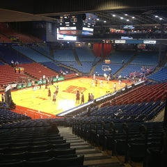 Photo taken at UD Arena by Melissa K. on 2/6/2013