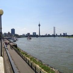 Photo taken at Rheinufer by Marc C. on 7/7/2013